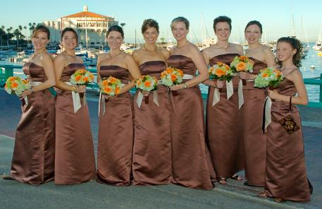 The Bridesmaids are ready