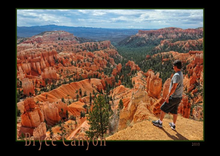 Larry Gebhardt at Bryce Canyon, Utah