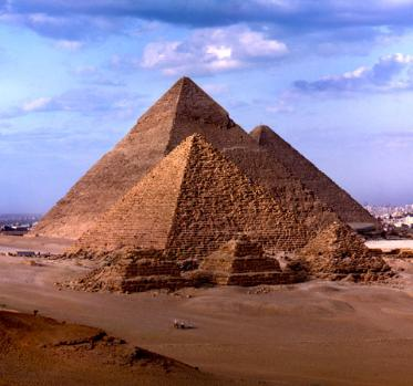 The Pyramids in Egypt - Cairo, Egypt