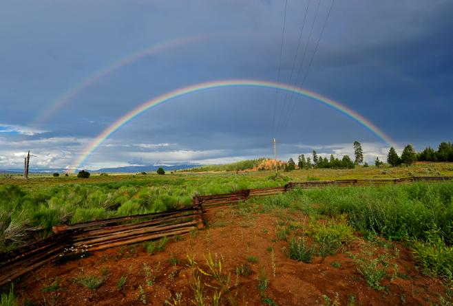 Bryce Canyon City Rainbow